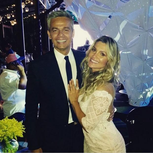 Otaviano Costa e Flávia Alessandra (Foto: Reprodução / Instagram)