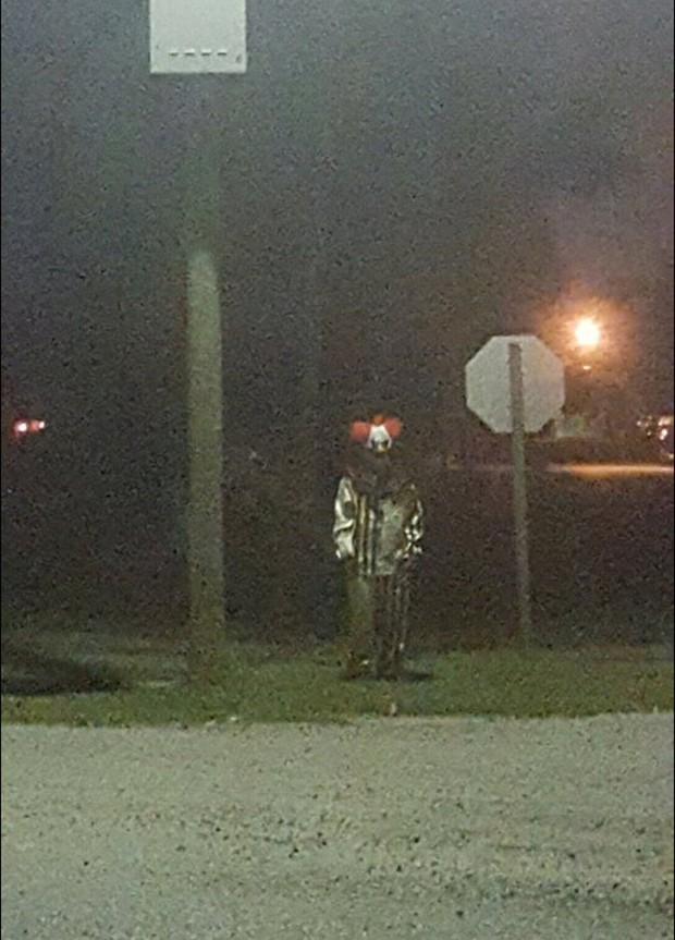 Palhaço é visto em Michigan, nos EUA (Foto: Reprodução)