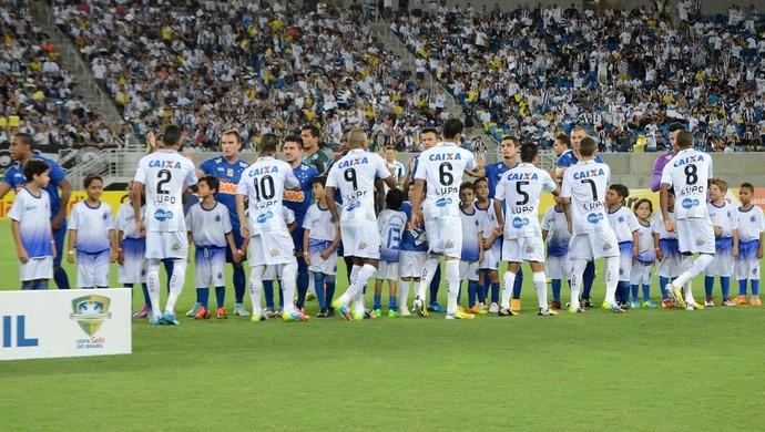 ABC x Cruzeiro - mascotes (Foto: Frankie Marcone/Divulgação/ABC)