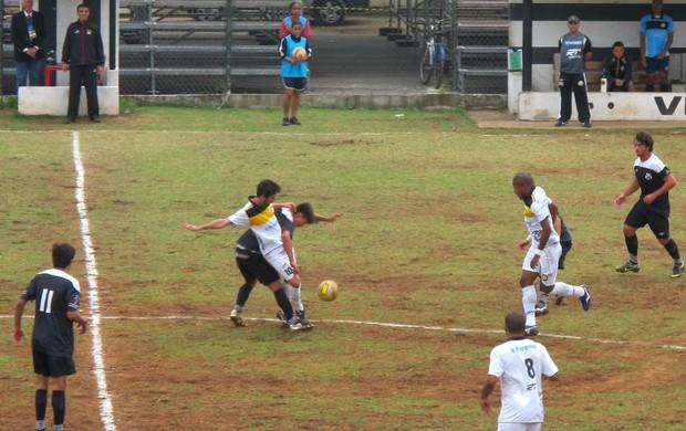 São Vicente enfrenta Joseense no Mansueto Pierotti (Foto: Bruno Gutierrez / Globoesporte.com)