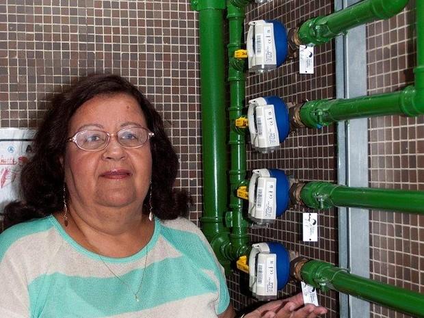 Hidrômetros individuais são a chave da economia de água e de dinheiro para edifício na Zona Norte do Rio (Foto: Divulgação/ Secovi-Rio)