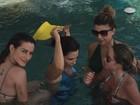 Cleo Pires aproveita dia de calor em Búzios com Guilhermina Guinle