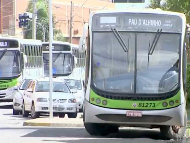 ônibus Piracicaba (Foto: Reprodução/EPTV)