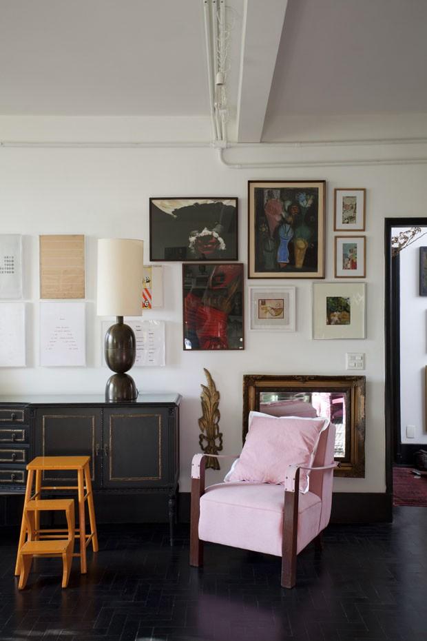 Apartamento vintage e pop (Foto: Marco Antonio)
