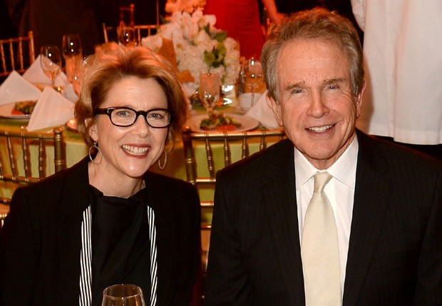 Annette Benning e Warren Beatty (Foto: Getty Images)
