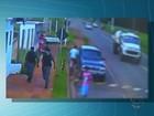 Imagens mostram suspeito de roubo fugindo ao ver policiais em MS