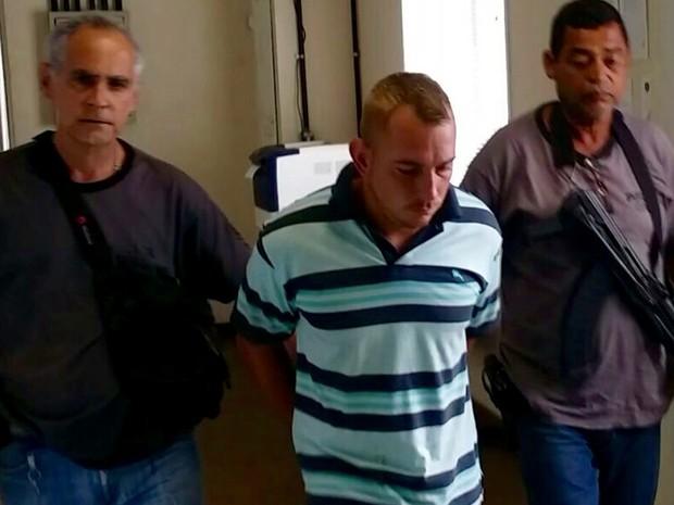 William foi preso na tarde desta sexta-feira em Itaguaí pelo estupro e morte de Soraya (Foto: Divulgação/Polícia ´Civil)