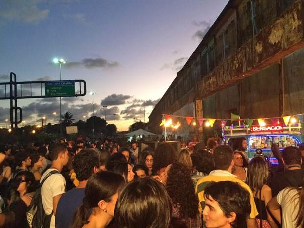Além de palestras com professores e especialistas no assunto, o movimento contou com a participação do projeto Som na Rural (Foto: Vitor Tavares/G1)