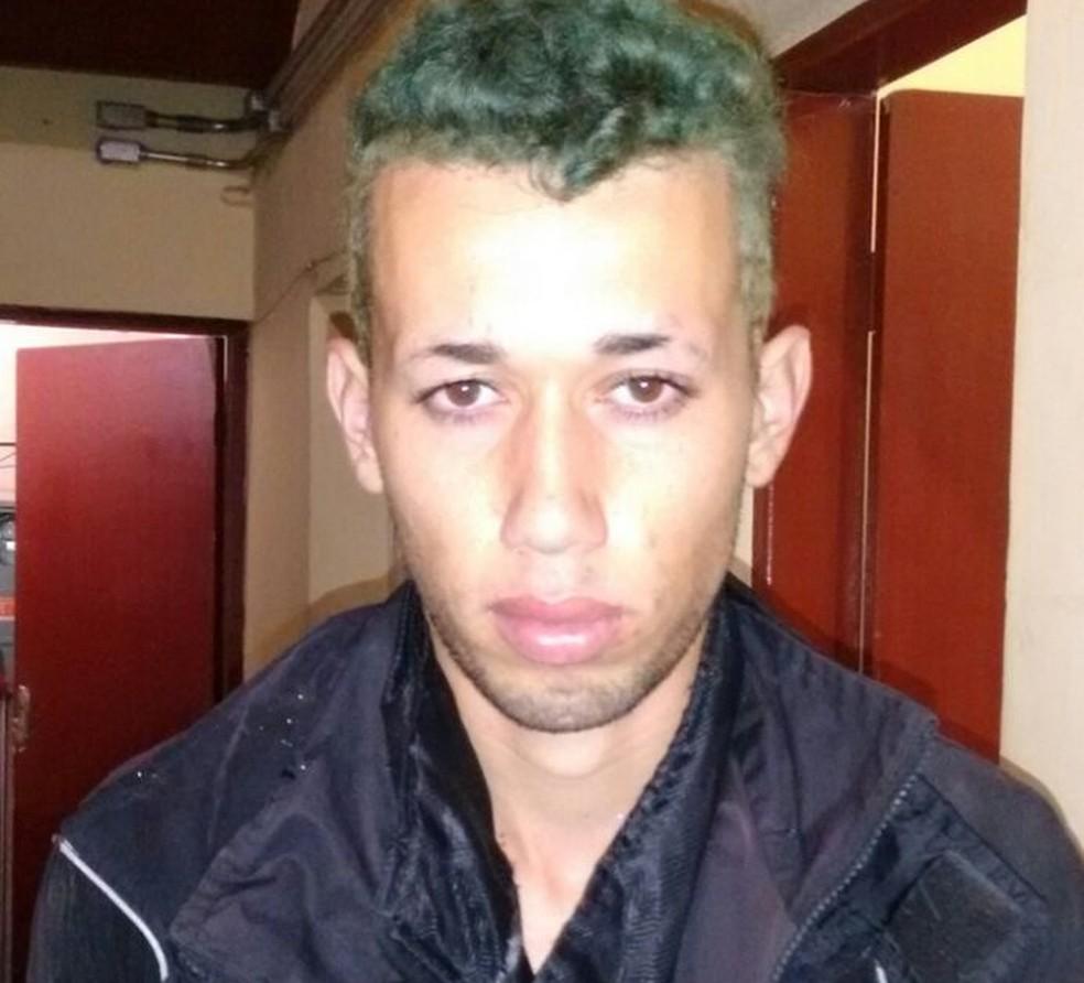 Homem foi preso após matar a própria filha (Foto: G1 Santos)