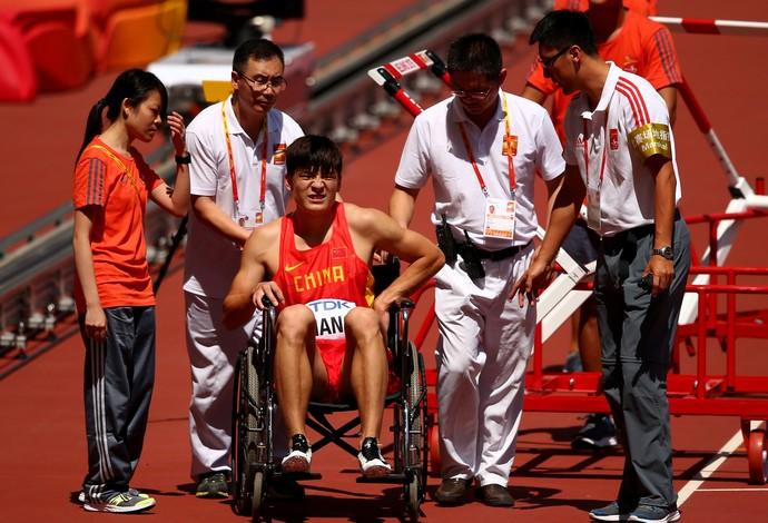 Honglin Zhang; china; mundial 110m com barreiras (Foto: Getty Images)