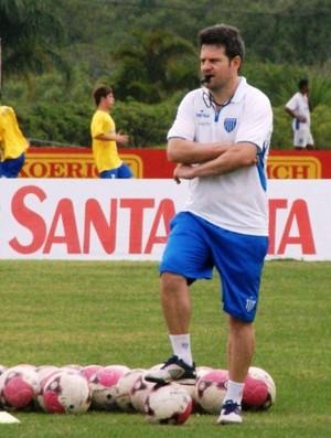 Técnico Argel Fucks, do Avaí (Foto: Alceu Atherino, Divulgação / Avaí FC)