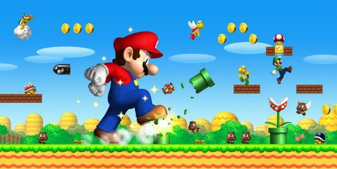 New Super Mario Bros foi um retorno às origens (Foto: Divulgação/Nintendo) (Foto: New Super Mario Bros foi um retorno às origens (Foto: Divulgação/Nintendo))