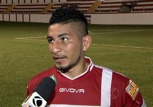 Valdo Bacabal Tombense  (Foto: Reprodução/TV Integração)