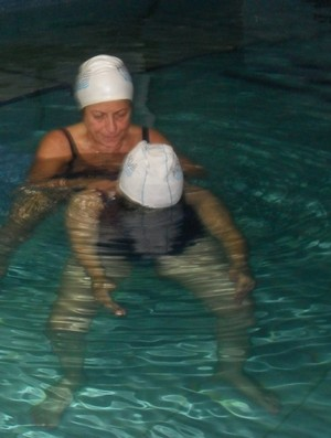 Hidroterapia Outubro Rosa Eu Atleta (Foto: Arquivo pessoal)