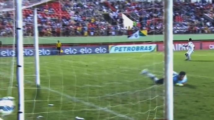 Kinho Rio Branco-AC Vasco Copa do Brasil (Foto: Reprodução SporTV)