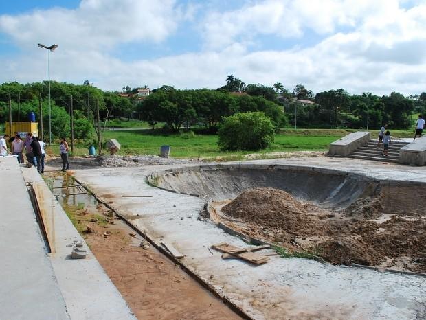 Pista de skate tem investimento de R$ 302 mil do governo estadual (Foto: Divulgação)