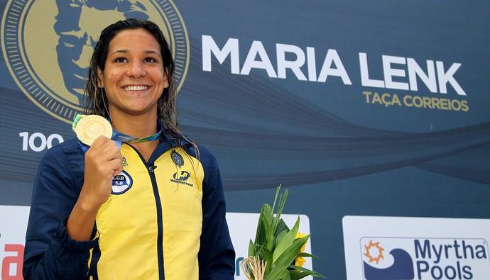 Joanna Maranhão Maria Lenk (Foto: Satiro Sodré / SSPress)
