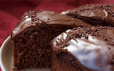Bolo de chocolate com óleo de coco