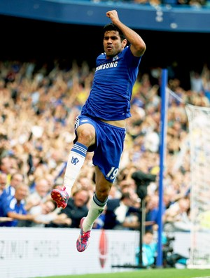 Diego Costa - Chelsea x Leicester (Foto: Getty Images)