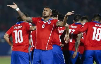 Chile x Argentina e Chapecoense x Vasco na tela do SporTV neste sábado