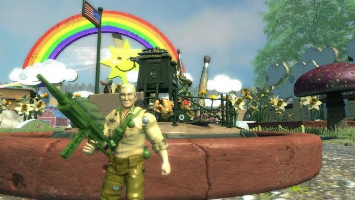 Os brinquedos vão para o combate em Toy Soldiers: War Chest (Foto: Divulgação/Ubisoft)