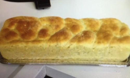 Pão de batata-doce da família Marquezine