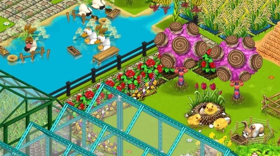 """Fazenda Feliz: game é """"Made in China"""" (Foto: Reprodução )"""
