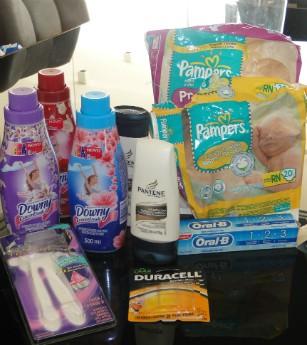 Cadastre os produtos da P&G e tenha uma vida de estrela (Foto: Domingão do Faustão/TVGlobo)