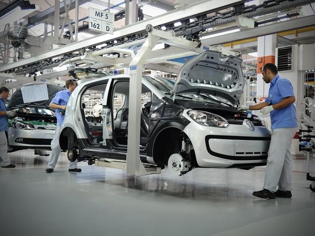 Volkswagen retoma produção do Up! em Taubaté (Foto: Divulgação)