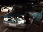Acidente entre dois carros deixa nove pessoas feridas na PR-151, em Castro