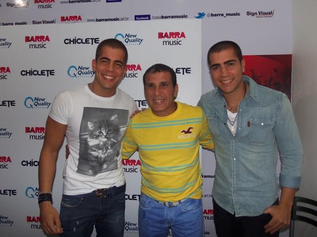 Pipo Marques, Eri Johnson e Rafa Marques (Foto: Divulgação)