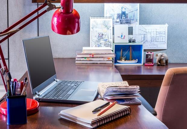mesa - trabalho - home office - produtividade - trabalho - ambiente - foco - concentração (Foto: Thinkstock)