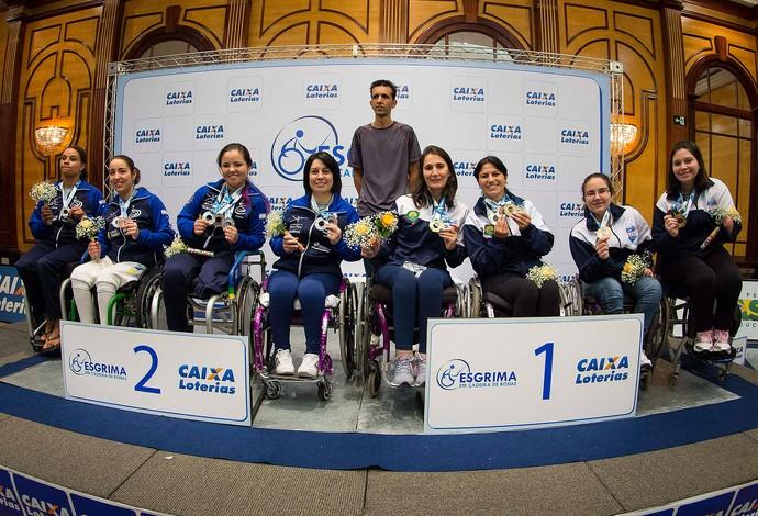 esgrima paralímpica por equipes Rio Grande do Sul (Foto: Divulgação / CPB)