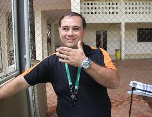 Manielden Távora, técnico de Basquete (Foto: João Paulo Maia)