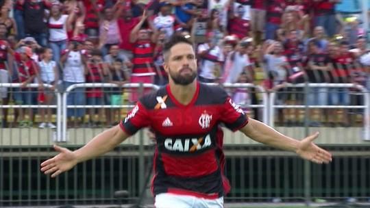 De volta ao Flamengo, Diego vai à Vila, onde tudo começou, para rever o Santos