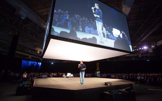 João Dória no evento Expert 2017, da XP Investimentos (Foto: divulgação XP Investimentos)