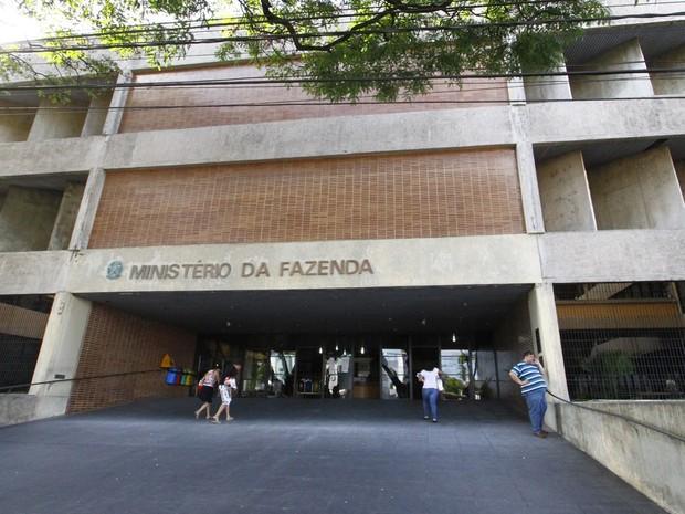 Prédio do Ministério da Fazenda em João Pessoa (Foto: Kleide  Teixeira/Jornal da Paraíba)