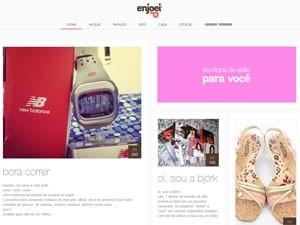 Em 2009, o então blog nasceu porque Ana Luiza resolveu se desfazer de metade dos pertences que guardava em seu armário (Foto: Reprodução)