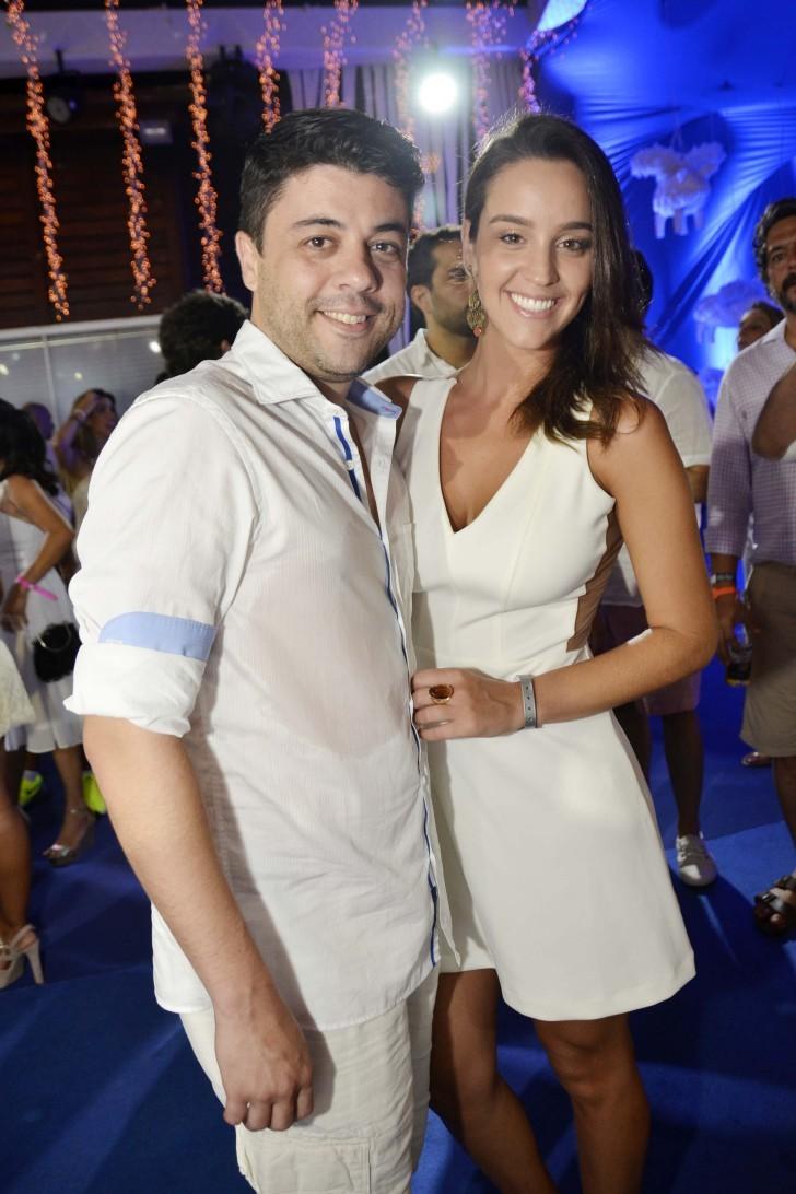 Tiago Eltz e Marion Ceschini