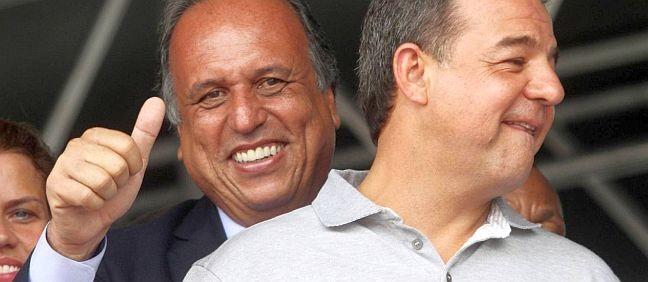 Luiz Fernando Pezão e Sérgio Cabral (Foto: Divulgação)