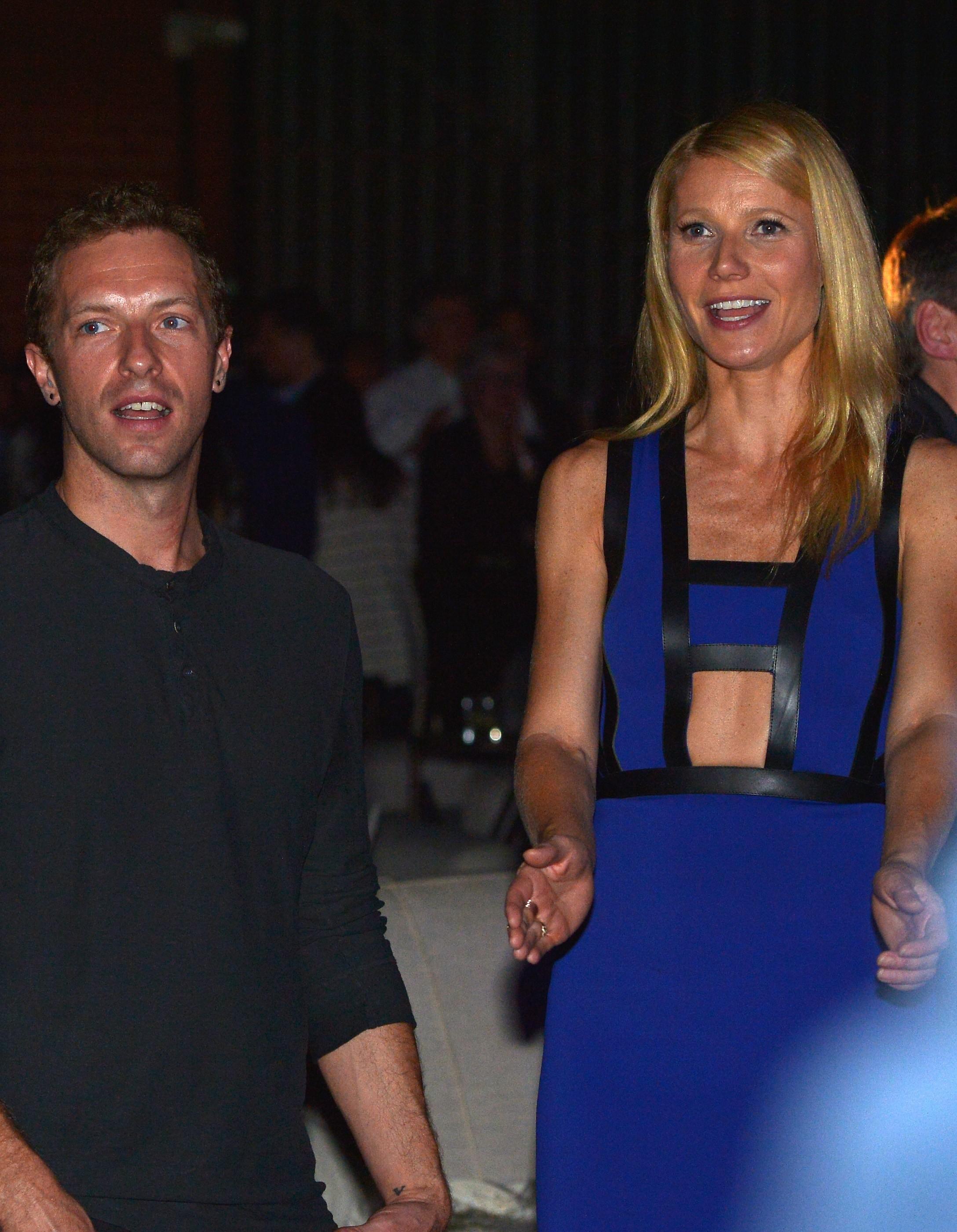 Com rumores surgindo num crescendo, não foi tão chocante quando Gwyneth e Chris anunciaram a separação. Depois de 11 anos de casamento e dois filhos, os dois descreveram o término como amigável e consciente. (Foto: Getty Images)