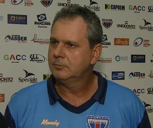 Marcelo Tamião, técnico do Rio Claro (Foto: Marlon Tavoni/EPTV)
