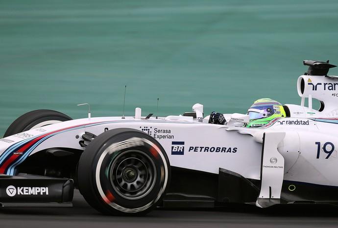 Massa, Treino Livre GP do Brasil (Foto: Reuters)