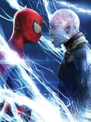 Personagens de Andrew Garfield e Jamie Foxx medem forças em O espetacular Homem-Aranha 2: A ameaça de Electro