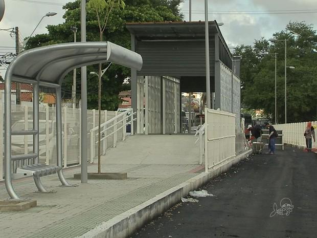 Avenida Bezerra de Menezes (Foto: TV Verdes Mares/Reprodução)