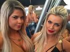 Veridiana Freitas registra encontro com a ex-BBB Cacau Colucci