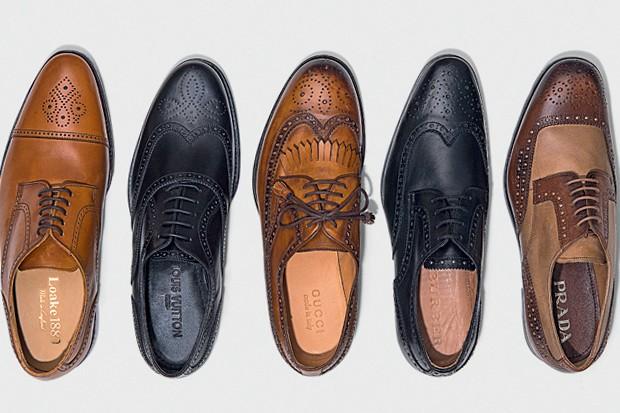 Sapatos Brogue (Foto: Murillo Mendes)
