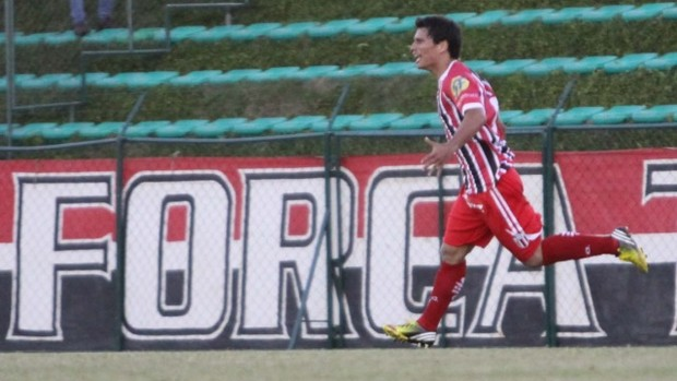 Borebi, atacante do Botafogo-SP (Foto: Agência Botafogo)
