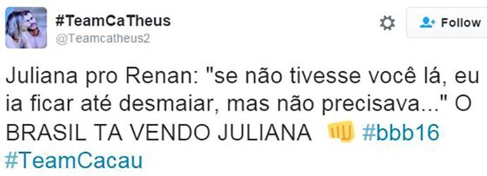 post juliana maria claudia (Foto: web)