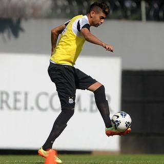 Stefano Yuri Santos (Foto: Ivan Storti / Divulgação Santos FC)